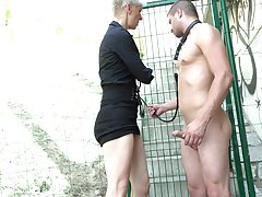 Outside fuck with a stranger is a fantasy of horny mature Martina