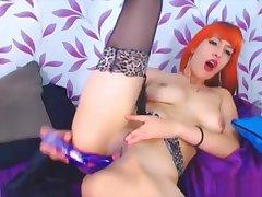 Code of practice redhead latina babe Daisy masturbates