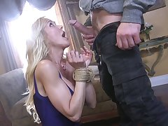 Submissive milf Brandi Love is fucked added to jizzed by kinky admirer
