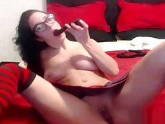 Suck put emphasize cum out of college schoolgirls pussy