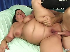 Grown up Latina BBW Lacy Bangs Anal Compilation Part 1