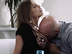 Frying MILF Britney Amber bends over as nothing is pleasant as doggy fuck