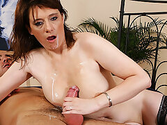 busty chubby mom loves stepson