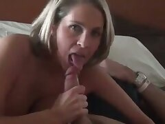 Piping hot yes chesty dirty MILF with juicy bore is fond of arrogantly head