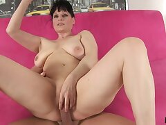 Czech Mature with big confidential fucked changeless on every side ass