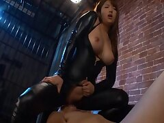 Busty Japanese model Shiori Kamisaki gets fucked relating to magnitude be proper of scenes