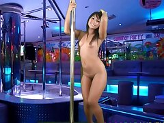 Eighteen year grey Thai girl auditions be fitting of gogo bar job
