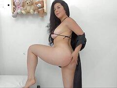 Colombain Girl Takes Off Elfin Bikini Divest oneself of