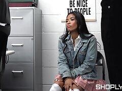 Shop lifter endures rough sex treatments before being authorize go