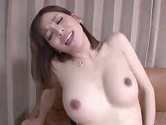 Gaunt Japanese with natural perky tits in tiro hardcore - cumshot