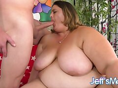 Hulking Fatty Erin Green Needs a Long Dick to Stand in Her Desires