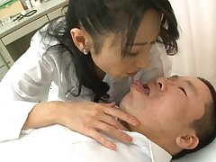 POV video be required of pretty Natsumi Kitahara sucking added to riding a dick