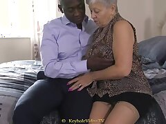 Successful Titty Grandma With A Cock-Squeezing Labia