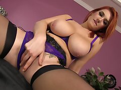 Stunning redhead Siri XXX is all class and broken up during an larger than life fuck