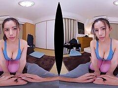 Nipponese randy Old Nick hard VR xxx clip