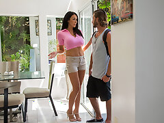 Cock Hungry Milf Reagan Foxx wants that young cock