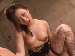 Amateur videotape be required of a Japanese chick eating ass and having sex