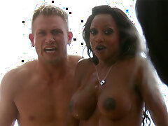 Angry COUGAR fooling around daughter-in-law's beau
