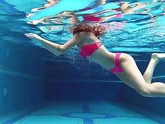 Uber-Cute gal, Tiffany Tatum went swimming with Masturbate plus milked next to the swimming pool