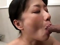 Doggystyle sex with respect to his tied up Japanese ungentlemanly