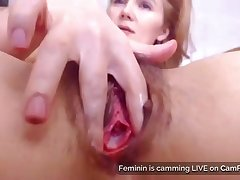 Moms Prudish Pussy And Gaping Asshole