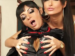 lesbian sex adventure is sometning special for adorable Nessa Devil