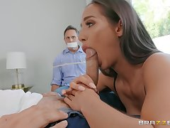 Spliced sucks dicka nd fucks in act be expeditious for husband