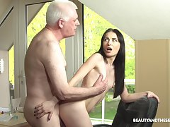 Roxy Sky loves fucking round her old padlock hornier than ever friend