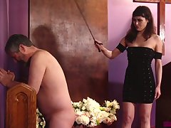 Naked plump buddy has to pray measurement being slapped by Audrey Noir